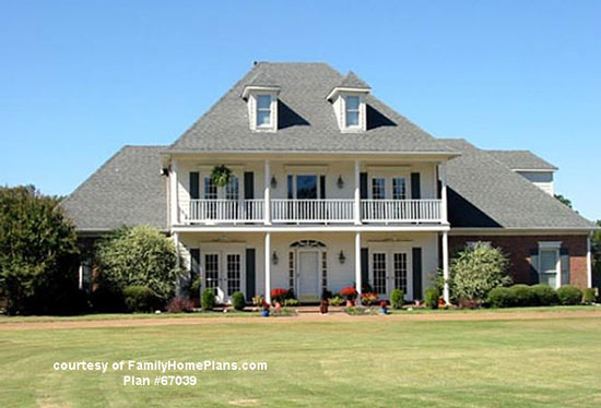 more expensive home from Family Home Plans