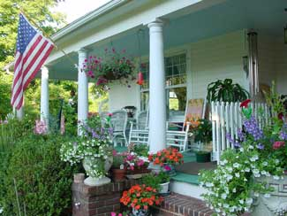 Porch at Prospect Hill B&B