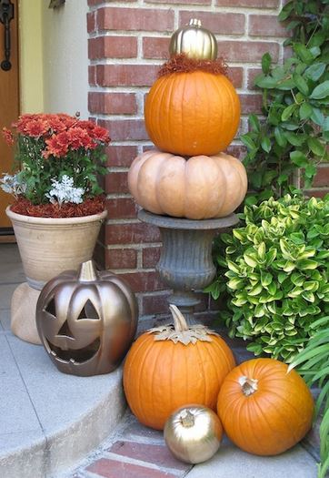 My Soulful Home Fall Front Porch