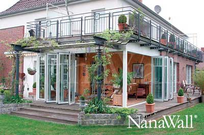 NanaWall® Under Deck Porch Enclosure