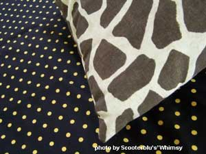 No-sew project pillow