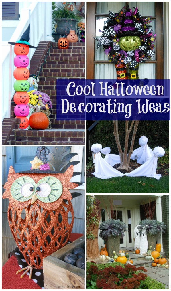 Halloween decorating on your porch - fun or scary?