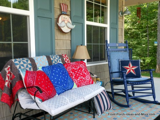 our patriotic porch