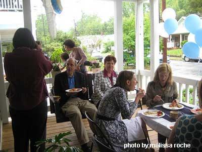 Porch Graduation Party