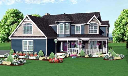 Porch plan 110