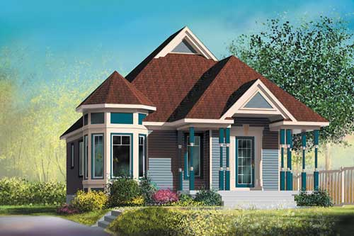 Porch plan for small Victorian