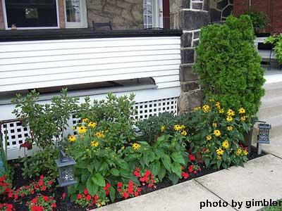 Porch skirting for extra curb appeal