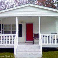 Mobile home porch by Ready Decks