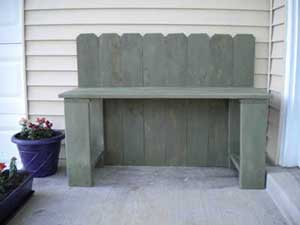 Small Porch Bench