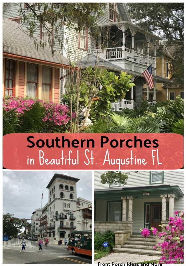 St Augustine Fl collage