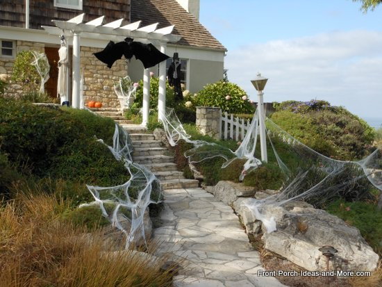 stone steps on front porch near Rancho Palos Verde