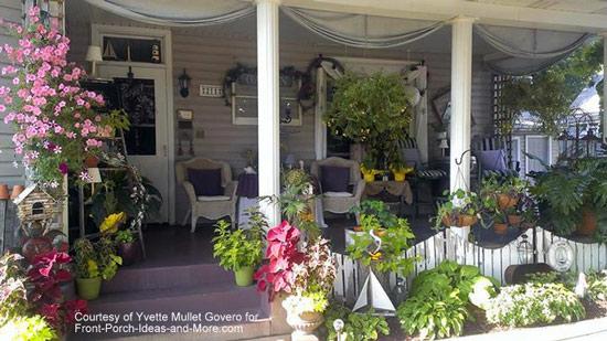 Yvette really loves decorating her porch for summertime