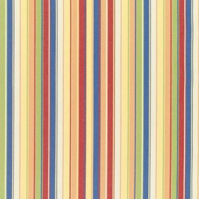 Striped yellow, red and green Sunbrella fabric found on Amazon