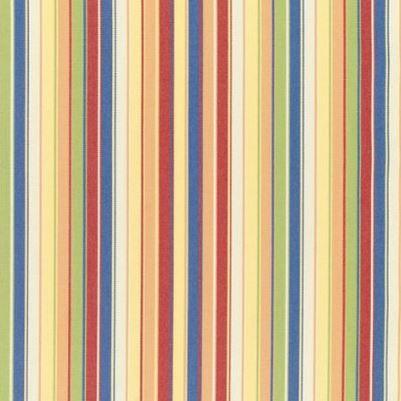 Striped yellow, red and green Sunbrella fabric found on Amazon