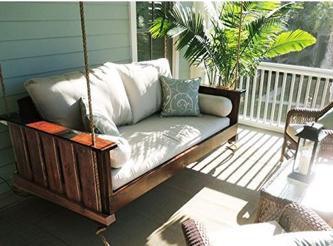 porch bed swing on amazon