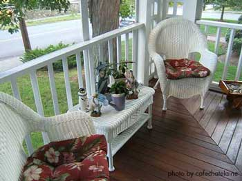 Victorian furniture wicker