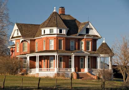 Older Victorian home