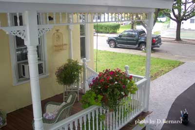 Victorian porch remodel