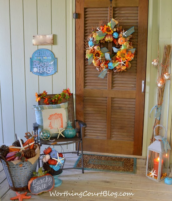 Worthing Court Fall Porch Tour