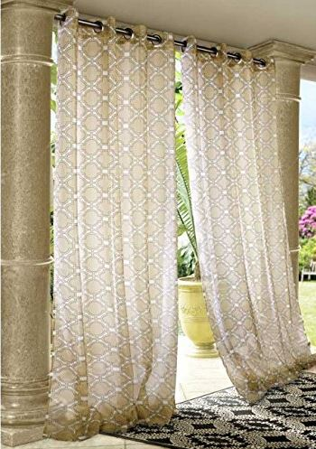 Wonderful Outdoor Curtain Panels