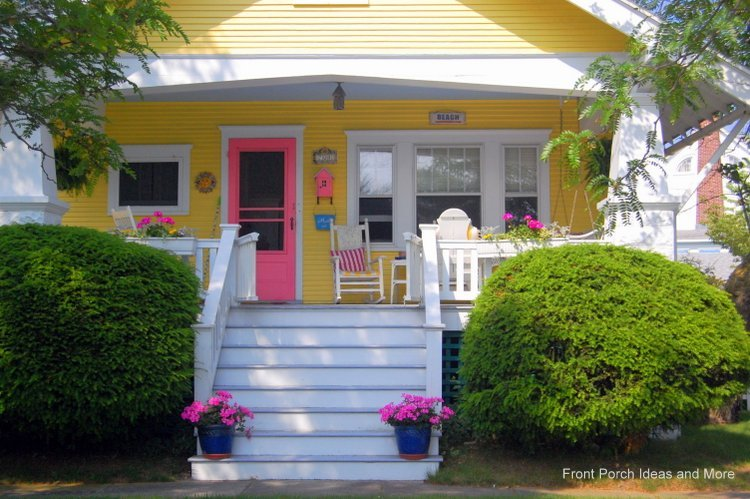 home painting ideas - colorful yellow